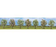 модель Noch 25092 Набор цветущих фруктовых деревьев 7 шт, высота 8 см.