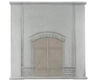 модель Noch 58086 Ворота (закрытые) 12,5х12,5 см