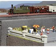 модель Noch 58192 Стена-карниз, два типа, каждая 38 см.