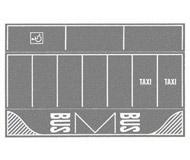 модель Noch 60720 Парковка, цвет серый, 2 шт, 22-14 см.
