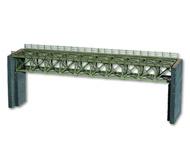модель Noch 67020 Стальной мост, длиной 37,2 см.