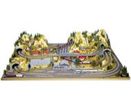 "модель Noch 80100 Основа макета ""Silvretta"", 220x140x52 см."
