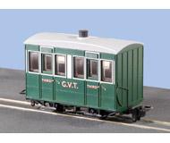 модель Peco GR-500 4 Wheel Enclosed Side Coach Glyn Valley Tramway.