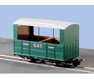 модель Peco GR-520 4 Wheel Open Side Coach Glyn Valley Tramway.