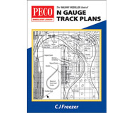 модель Peco PB-4 The Railway Modeller Book of N gauge Track Plans
