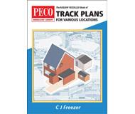 модель Peco PB-66 The Railway Modeller Book of Track Plans for various locations