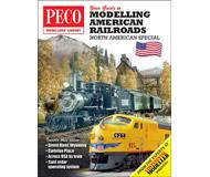 """модель Peco PM-201 Книга """"Your Guide to Modelling American Railways"""". Огромное разнообразие железных дорог в Северной Америке делает их объектом с большим потенциалом для энтузиастов во всем мире. Это бесценное руководство предназначено для всех, кто хочет начать заниматься железнодорожным моделированием. 130 страниц. На английском языке."""