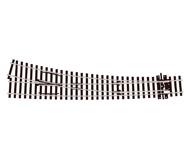 модель Peco SL-E187 Стрелка радиусная левая, радиус 1524/762 мм, длинна 258мм. Высота рельса 1,9 мм (код 75).