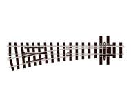 модель Peco SL-E496 Стрелка узкоколейная леваяя, радиус 457мм 14°, длинна 143мм. Совместима с серий PECO OO-9 Setrack. Высота рельса 2,03мм (код 80).