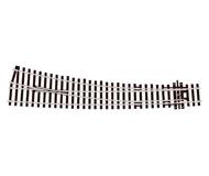 модель Peco SL-E86 Стрелка радиусная правая, радиус 1524/762 мм, длинна 256мм. Тип Electrofrog. Высота рельса 2,5 мм (код 100).