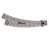 модель Peco ST-244 Стрелка радиусная правая 11,25° R2/R3. Высота рельса 2,5 мм (код 100).