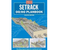 """модель Peco STP-OO Книга """"Setrack OO/HO Planbook"""". Идеи путевых схем для макетов. На английском языке."""