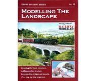 """модель Peco SYH2-13 Брошюра из серии """"Shows you how"""". Выпуск 13. """"Modelling the Landscape."""" (Моделирование ландшафта). На английском языке."""