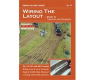 """модель Peco SYH2-21 Брошюра из серии """"Shows you how"""". Выпуск 21. """"Wiring the Layout - Part 3: Turnouts & Crossings."""" (Схема расположения - Часть 3: Стрелки и перекрестья). На английском языке."""