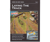 """модель Peco SYH2-3 Брошюра из серии """"Shows you how"""". Выпуск 3. """"Laying the Track."""" (Укладка путевого материала на макете). На английском языке."""