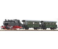 """модель Piko 37125 Стартовый набор """"Пассажирский поезд DR Ep. III"""" с возм. уст. звук.модуля и пароген, аналоговый"""