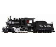 модель Piko 38220 Паровоз D&RGW Mogul Loco 216, Smoke