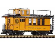 модель Piko 38602 D&RGW Drovers Caboose 215, Yellow