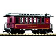 модель Piko 38613 PRR Wood Coach, Tuscan