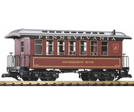 модель Piko 38629 PRR Wood Coach 80476, Tuscan