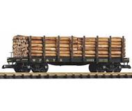 модель Piko 38712 WP&YR Платформа 1023 w/Log Load