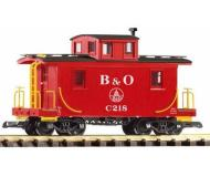 модель Piko 38827 B&O Wood Caboose, Red