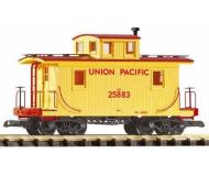 модель Piko 38830 UP Wood Caboose 25883, Armour Yellow
