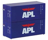 модель Piko 46102 TT Container 20' APL 2 Pcs