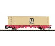 модель Piko 47706  Платформа с контейнером MSC, тип Lgs 579. Принадлежность NS. Эпоха VI