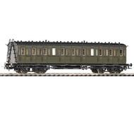 модель Piko 53004 Купейный вагон 3 класса. Принадлежность SNCF, Франция. Эпоха III. Серия Классик.