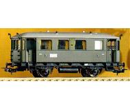 модель Piko 53060 Пассажирский вагон горных железных дорог тип 59 233. Принадлежность DRG. Эпоха II