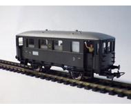 модель Piko 53061 Пассажирский вагон горных железных дорог тип 59 234. Принадлежность DRG. Эпоха II