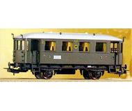 модель Piko 53063 Пассажирский вагон горных железных дорог тип 59 305. Принадлежность DRG. Эпоха II