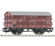 модель Piko 54033 Вагон для перевозки животных V23. Принадлежность DR, Германия. Эпоха III