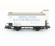 модель Piko 54212 Вагон для перевозки пива Brauerei Goerlitzer с тормозной будкой. Эпоха I