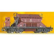 модель Piko 54321  Хоппер с тормозной будкой, тип KKt 22. Принадлежность DR. Эпоха III