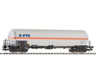 """модель Piko 54653 Цистерна для перевозки сжатого газа """"VTG"""". Серия Эксперт."""