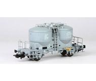 модель Piko 54693 Вагон для перевозки цемента/пыли, тип Ucs-v9120. Принадлежность DR. Эпоха IV