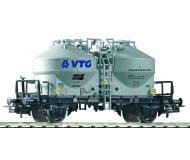 модель Piko 54731 Вагон для перевозки цемента VTG. Принадлежность DB, Германия. Эпоха V