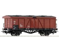модель Piko 54839 Полувагон для перевозки чувствительных к сырости грузов, тип ex.Omm43. Принадлежность DR. Эпоха IV
