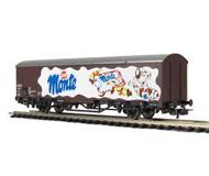 """модель Piko 54990 Вагон-рефрижиратор """"Monte"""". Принадлежность DB, Германия. Эпоха AG. Серия Эксперт."""
