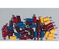 модель Piko 55771 Миниатюрные штекеры (32шт.) + разъемы (8шт.)