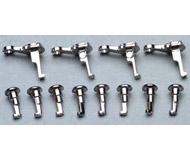 модель Piko 56083 Ось рукоятки затвора (8шт) + контркривошип (4шт) серебристые