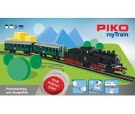 """модель Piko 57091 Стартовый набор PIKO myTrain (бывш. Юниор) """"Пассажирский поезд с паровозом"""", аналоговый"""