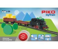 """модель Piko 57092 Стартовый набор PIKO myTrain (бывш. Юниор) """"Грузовой поезд с паровозом"""", аналоговый"""