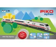 """модель Piko 57094 Стартовый набор PIKO myTrain (бывш. Юниор) """"Пасажирский поезд ICE"""", аналоговый"""