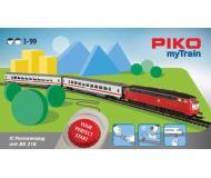 """модель Piko 57095 Стартовый набор PIKO myTrain (бывш. Юниор) """"Пасажирский поезд с тепловозом BR218"""", аналоговый"""