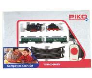 """модель Piko 57110 Стартовый набор """"Пассажирский поезд"""", аналоговый. Серия Хобби."""