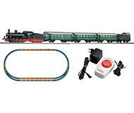 """модель Piko 57121 Стартовый набор """"Пассажирский поезд"""" (паровоз G7.1 и четыре вагона), аналоговый. Серия Хобби."""