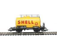 модель Piko 57707 Цистерна двухосная Shell. Принадлежность DB, Германия. Эпоха III. Серия Хобби.